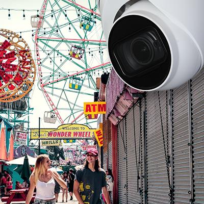 Surveillance Solutions for Amusement Parks