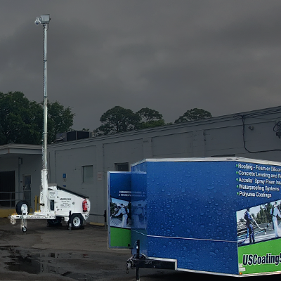 Surveillance Trailers for Roofing Contractors