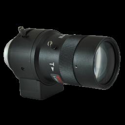 "5 ~ 100mm Auto Iris Megapixel lens for C-Mount or ""Box"" cameras."