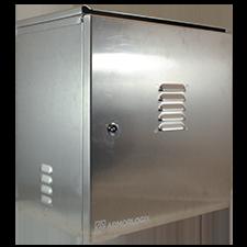 "19 x 19 x 12"" NEMA3 Weatherproof Aluminum Enclosure"