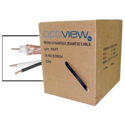 Professional Grade CCTV Cable for surveillance installations.