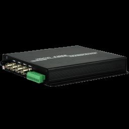 4 Channel HD Fiber Optic Transmitter/Receiver