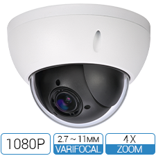 2MP 1080P Mini Network PTZ