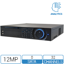 NVR 32 Channel 8 STA Intelligent NVR