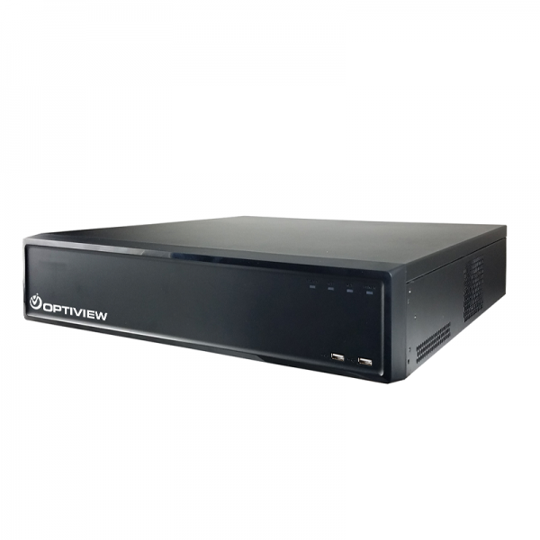 32 channel embedded network video recorder with 16 built in PoE ports. Holds 8 x hard drives. Advanced video functionality.