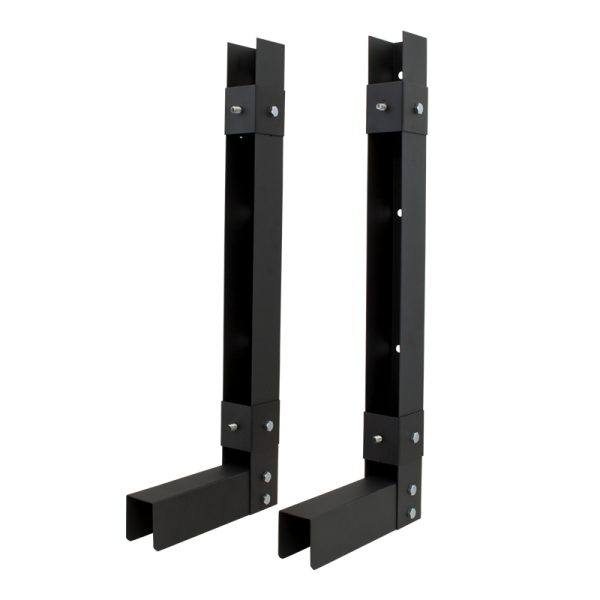Vertical wall mount bracket for securing DVR and NVR lockboxes