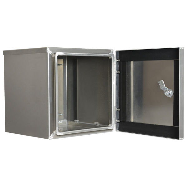 "Clearance ArmorLogix 12 x 12 x 11"" enclosure (open)"
