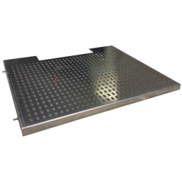 Adjustable shelf for AL202222 NEMA3 weatheproof enclosure.