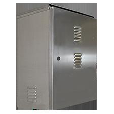 """AL272213 - 27"""" x 22"""" x 13"""" Aluminum Weatherproof Enclosure"""