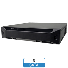 8 Hard Drive add-on eSATA surveillance solution