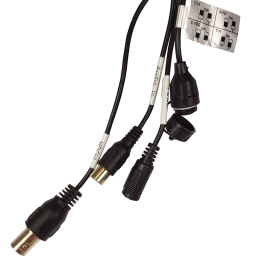 Pigtail Connectors for 4K HD-over-Coax (CVI) Bullet Camera with built in audio