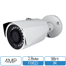4MP HD-over-Coax (CVI) Fixed Bullet Camera
