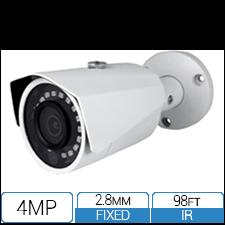 4MP HD-over-Coax (CVI) Fixed Bullet Camera
