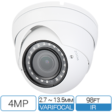 4MP Varifocal HD-CVI Armor Ball CCTV Camera