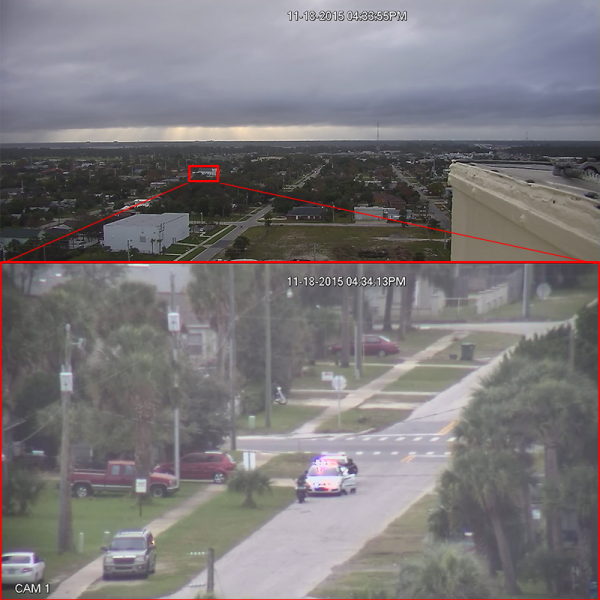 Use the power of PTZ for long distance surveillance