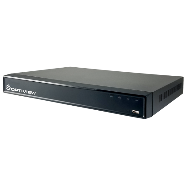 4 Megapixel 1U 16 channel DVR with up to 20tb storage