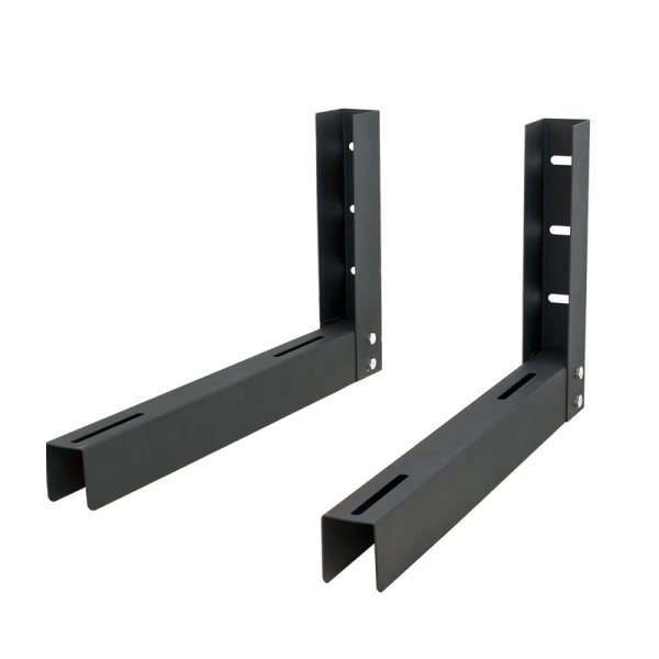 Horizontal wall mount bracket for DVR and NVR lockboxes