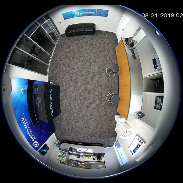 4K / 12MP 360 Degree Network Fisheye Camera - Main View