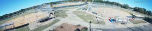 IP 180 degree panoramic event surveillance - Baseball Field
