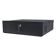 Small Lockbox for DVRs and NVRs