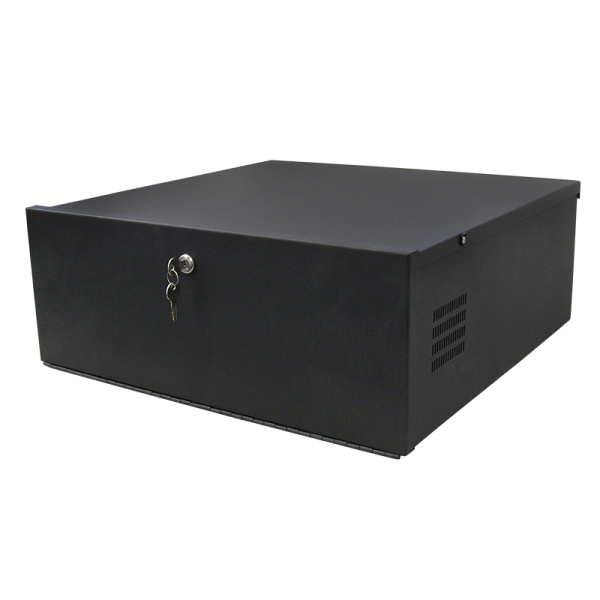 Large secure DVR and NVR Lockboxes with cooling fan