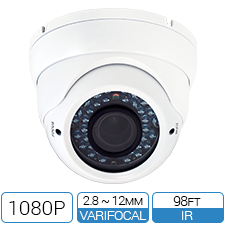 1080P HD-over-Coax (CVI) Varifocal Turret Style Camera