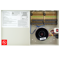 18 channel 24vAC power supply for CCTV cameras