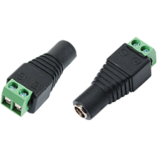 2.1mm power connector adapter (male)
