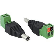 2.1mm power connector adapter (female)