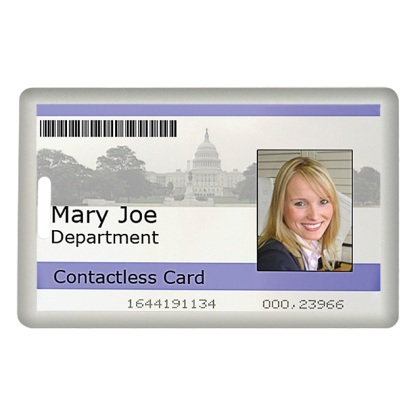 Clamshell Card for Access Control Systems