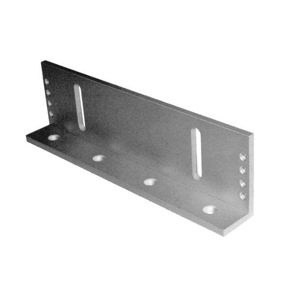 L bracket for 1200 pound mag locks from Optiview