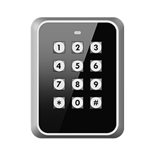 Vandalproof Proximity Reader and Keypad