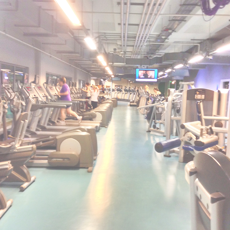 HD Surveillance for Fitness Centers and Gyms