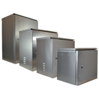 All ArmorLogix weatherproof enclosures offered by Optiview