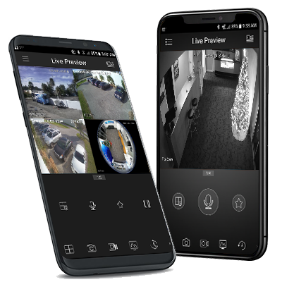 View Optiview security cameras from anywhere with Optiview Mobile Apps