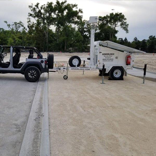 ArmorLogix Mobile Surveillance Trailer