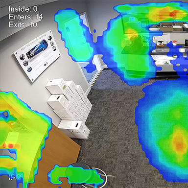 Heat Map Retail Video Analytics