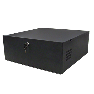 Secure DVR and NVR Lockboxes with cooling fan