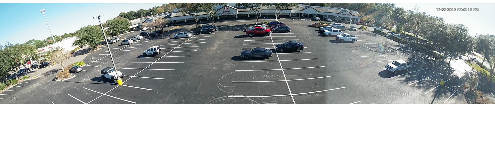 Solar powered surveillance - Parking Lots