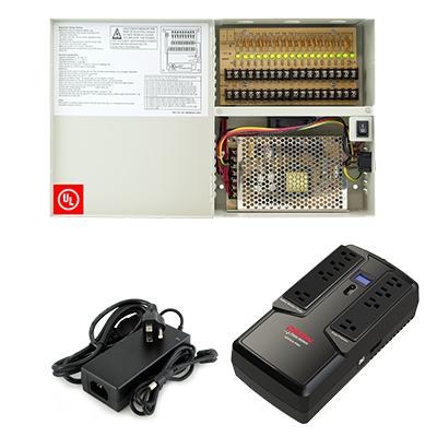 Power Supplies and Protection for Surveillance and Access Control
