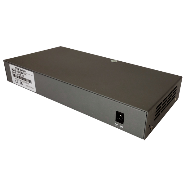 8 Port PoE Switch with up to 15.4W per port