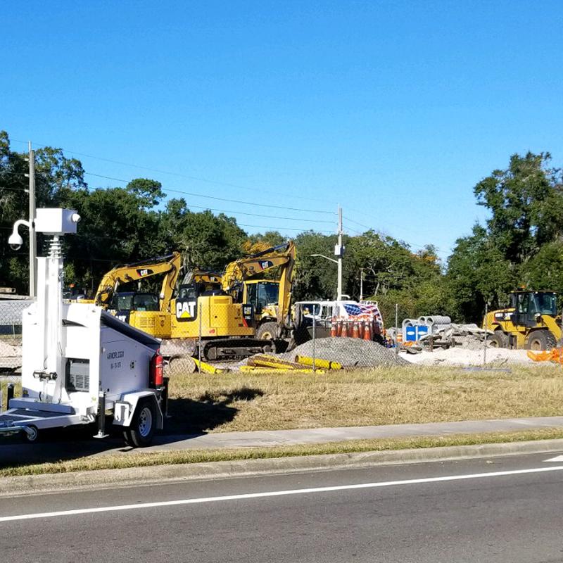 Remote Construction Site Surveillance Solutions