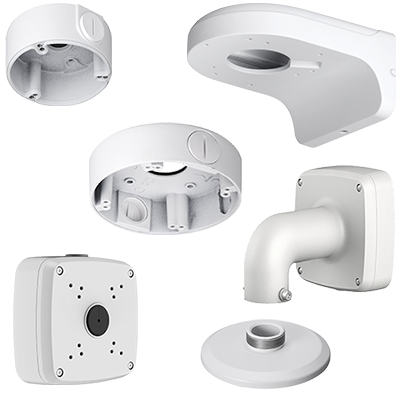 Brackets for CCTV surveillance cameras from Optiview