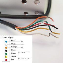 Wiring Diagram for 1100lb weatherproof mag lock