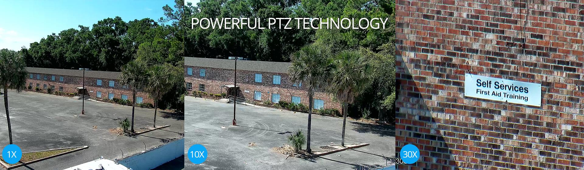 Powerful IP PTZ Technology