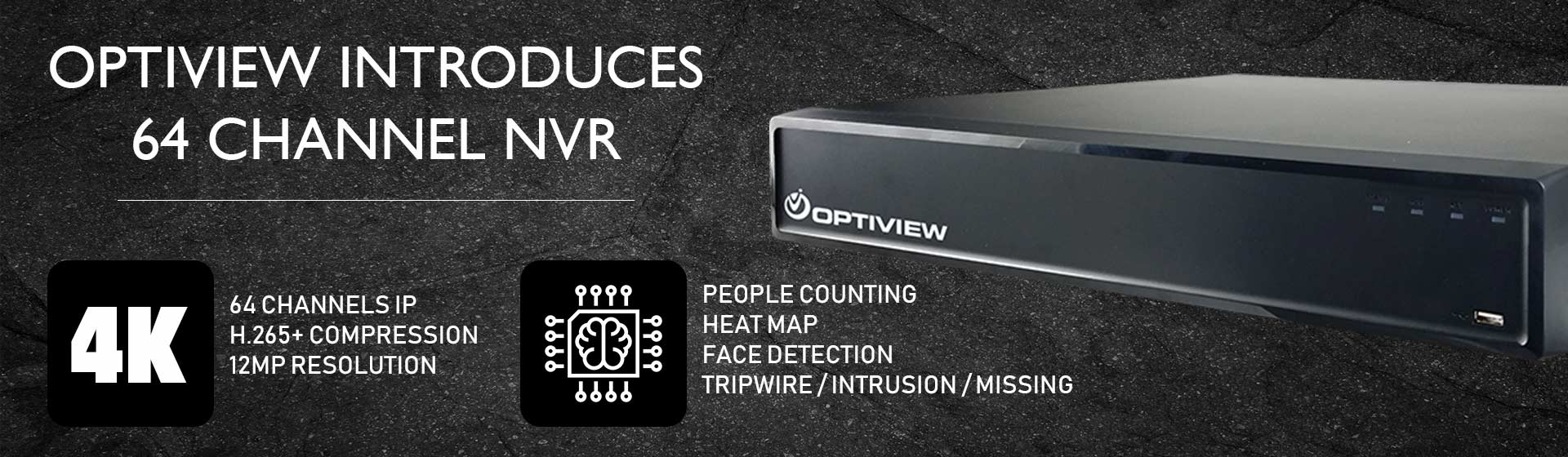 Security and Surveillance Solutions - 64 channel nvr 4k