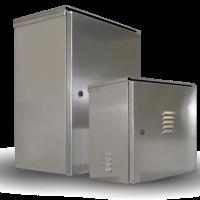 NEMA 3 and NEMA 4 Weatherproof Aluminum Enclosures for Marinas