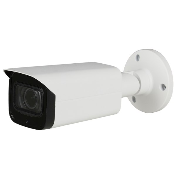 5 Megapixel HD-over-Coax bullet camera with motorized zoom and built in audio