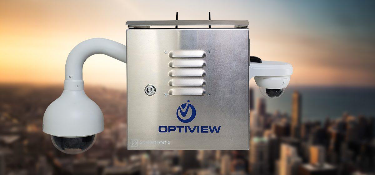 Optiview Weatherproof Construction Site Surveillance Solution