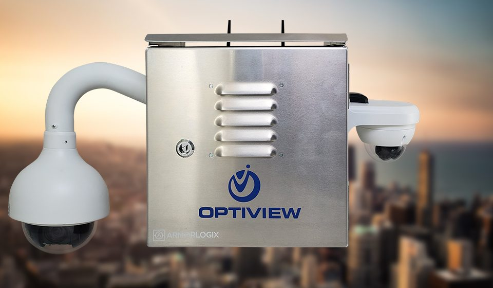 Optiview Weatherproof Construction Site Surveillance Solution
